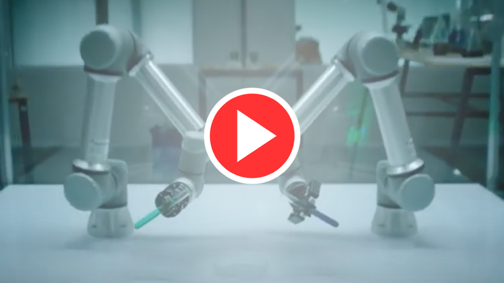 Наши роботы приняли участие в съёмках рекламы для Мегафона-